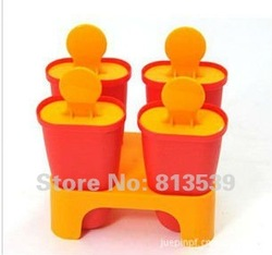 Free shipping-3 pcs/lot,Popsicle box,DIY Ice cream mould(color same as picture),best-selling(China (Mainland))