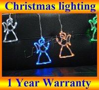 LED Christmas Xmas Led Lighting Color Mixed Christmas Angel 1.5M 5pcs/set 50pcs led bulbs,Holiday  New Year party Led Lighting