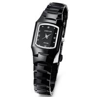 Luxury JSDUN CZ Diamond Sapphire Women Dress Rhinestone Watches Fashion Full Tungsten Steel Quartz Wrist Watch 137