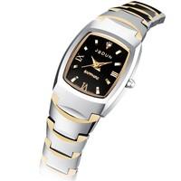 High Quality Wristwatch Fashion 30M Waterproof Women's watch Gold Tungsten Steel Quartz Watch Ladies Fashion Wrist Jewelry 8608G