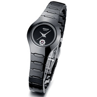Aesop watch black ceramic watch fashion wristwatch waterproof women's quartz watches free shipping 9901