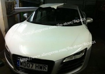 Hot Sells ! white Glossy Vinyl Car Wrapping Size 152*30m With Air Free Bubbles Free Shipping