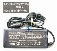 Free Shipping Laptop Power Souce 16V 3.36A 6.5*4.4mm 100-240V AC For Sony Fujitsu Notebook 5pcs/lot CE