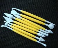 8Pcs/Set  Fondant Cake Decorating Flower Modelling Craft Clays Sugarcraft Tool Cutter