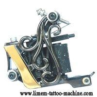 Wholesale -New Top Handmade Crystal Crown Tattoo Machine Gun Shader tattoo supply  free shipping