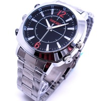 8gb 16GB 1080P Stylish sports video camera Waterproof Sports Wrist Watch Style Camera DVR Camcorder with Webcam