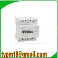 single  Phase KWH Meter,DIN Rail 230/400VAC 1 Phase Watt-hour KWH Energy Meters 20(100)A