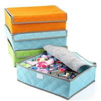 Free shipping/ Storage case/ 3 pieces a set,foldable box /Bamboo Charcoal fibre Storage Box for bra,underwear,necktie,socks