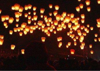 High quality flying paper sky lanterns Manufacturer selling flying paper sky lanterns Wish gift flying lantern