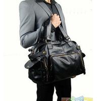 Quality PU commercial man bag fashion vintage bag one shoulder handbag cross-body bags