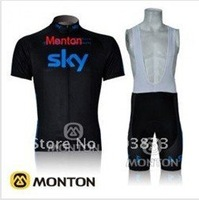 2012 new Tour de france black and blue SKY team cycling jersey+bib shorts/cycling wear