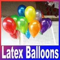 100pcs/lots wholesales 10 inch latex balloons ,round balloons ,Party decoration ,Pearl balloon Free shipping