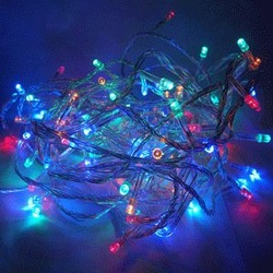 Christmas decoration lantern string light led lighting frequency flash super bright christmas tree decoration lights string(China (Mainland))