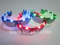 free shipping 100pcs/lot led glasses for men flashing glasses men eye glasses for Christmas party