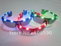 free shipping 100pcs/lot led glasses for men flashing glasses men eye glasses for Christmas party