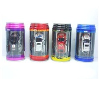 Best selling!!Mini Remote Control RC car+ rc car+Toy coke can mini car+aluminium CAN PACKAGE Free shipping,1 PCS