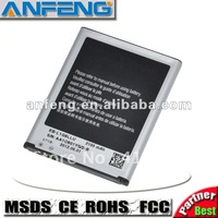 S3 Battry for Samsung i9300 Galaxy SIII Battery  Free shippping  2pcs/lot