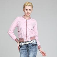 Free shippig Bioplazm autumn 2012 women's sports wind slim casual outerwear short jacket