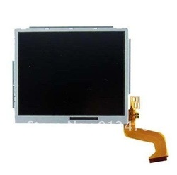 Free shipping New Upper Top LCD Display Screen For Nintendo NDSi DSi XL 10pcs/lot(China (Mainland))