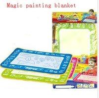 Free shiping, Kid/Baby playmat Painting blanket,Magic water write Mat, Drawing Game,Mat+water Pen,45*30cm,100% Nylon+Sponge+ABS