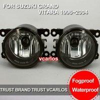 Free shipping by DHL/EMS/FEDEX Fog Light for SUZUKI GRAND VITARA 1996~2004~ON Clear Lens PAIR SET + Wiring Kit