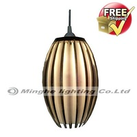 Free Shipping Comtemporary Pendant Lights with 4 Lights in Ellipse Design for Living Room, Bedroom, Dining Room in Modern style