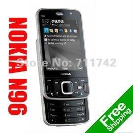 Nokia N96 Refurbished Unlocked Phone,3G Smartphone, Quad-Band, WIFI, 5MP Camera, Symbian OS,Free Shipping