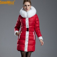 Promotions ! Elegant Wedding down coat fur outerwear high quality ! Customized products !