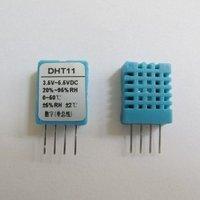 Free shipping,10PCS DHT11 Digital Temperature and Humidity Sensor Probe