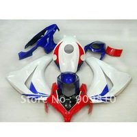 for honda cbr1000rr  fairing 2008 2009 cbr1000 09 08 abs fairing kit motocycle bodywork blue red white  free shipping