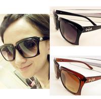 Fashion Framework Eyeglasses Elegant Women Men Sunglasses Metal Mark Free Shipping 067