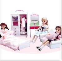 Vinyl doll girls dream room toys set real pretty dolls ladies essential gift + free shipping