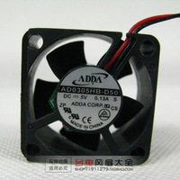 3CM AD0305HB-D50 3510 5V 0.13A 35*35*10MM set-top box notebook switches fan