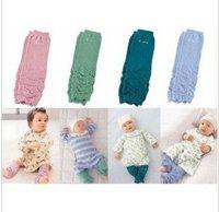 Free shipping (48pairs/lot) ruffle baby leg warmers/kids leggings/unisex cotton knit leggings for boys and girls