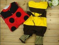 cute Ladybug or bee model baby romper