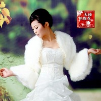 2012 Fashion Luxury White Autumn and Winter Bride Wedding Evening Dress Fur Shawl Wedding Accessories 471