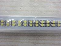 [Seven Neon]Free DHL shipping high quality AC85-265V 9W 800LM 60cm 144pcs 3528 led beads T8 led tube light