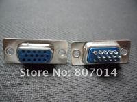 15 Pin D-Sub VGA DB15 HD Female Solder Cup Connector 100pcs