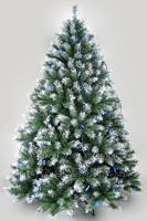 180cm green mixed christmas tree 1.8 meters encryption luxury lighting