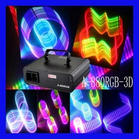Latest Creative Design 3DRGB Animation Laser Light