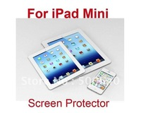 Free Shipping For ipad mini Clear Screen Protector Screen Protective Film for mini ipad 100pcs/lot