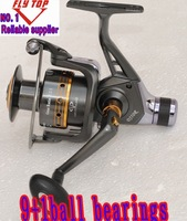 Excellent 3000size  rear drag reels ,spinning fishing reels, 9+1BB 1pcs/lot
