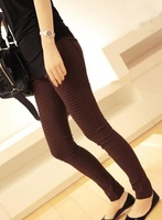 New arrival Free shipping Wholesale Korean 2012 New Fashion Sheath Pencil pants women clothing ladies trousers