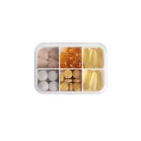 Injoy cross 6 kit portable kit portable storage box edible pp chewing gum box