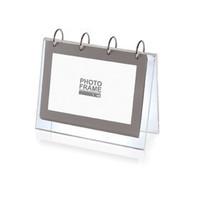 Injoy acrylic calendar crystal photo album desktop photo frame brief photo frame