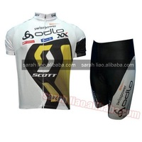2012 swisspower odlo cycling jersey and shorts accept customize and dropshipping