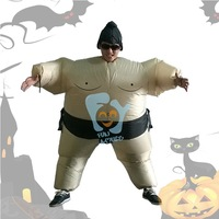 adult Halloween inflatable costumes Japanese sumo costumes funny party clothing free size