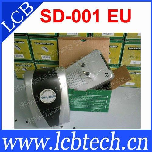 Super SD-001 19KW Electronic Energy Saving Device Power Saver free shipping(China (Mainland))