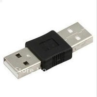 wholesale 100pcs USB A Male to USB A Male USB Converter Adapter for mobile phone china post free shipping