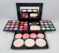 1 set ADS Fashion makeup Shadow Palette 24 colors+8 color lip gloss +4 blush+3 block powder one set on sale free shipping